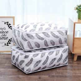Torba do przechowywania kołdry Feather kształt strona główna odzież kołdra zestaw kocyk-poduszka torba do przechowywania organiz