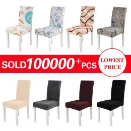 Elastyczna pokrowiec na krzesło Stretch elastyczna jadalnia pokrycie siedzenia na bankiet ślub restauracja Hotel anty-dirty zdej