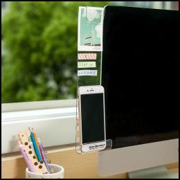 """Nowy monitor do komputera ekran naklejki akrylowe karteczki samoprzylepne z otworem do ładowania uchwyt na telefon zakładek """" ho"""