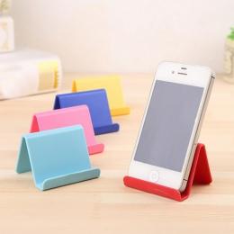 Uchwyt na telefon komórkowy uchwyt na podpora stała stojący Mini przenośne zdalne sterowanie stojak z tworzywa sztucznego cukier