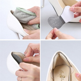 Biuro w domu do przechowywania 1 para szpilki żel poduszka pod pięty pielęgnacja stóp wkładki do obuwia wkładka Pad wkładka 9*4.