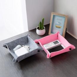 1 PC tkaniny czuł pulpit rozmaitości Taca nadające się do noszenia i trwałe składany używać do biuro salon stolik do przechowywa