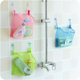 2019 ISHOWTIENDA moda dla dzieci dla dzieci czas kąpieli Tidy przechowywania zabawki przyssawki torba siatka łazienka organizato