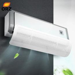 ORZ klimatyzacji powietrza w domu deflektor wiatrowy regulowana przednia szyba klimatyzator powietrza osłony we Home Office akce