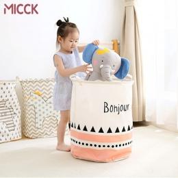 Mick kosz na bieliznę duża pojemność Cartoon wodoodporna składane pościel koszyk piknikowy do przechowywania dzieci skrzynka na