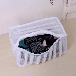 2018 nowy biały wyściełane pranie netto torba do ochrony trenerów i buty w pralce buty mycie i worek suszenia