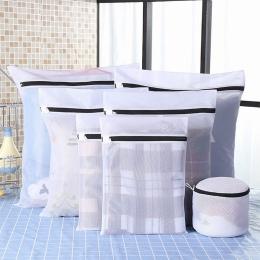 IVSHION ubrania torba na pranie czarny nylonowa obudowa dla bielizna ubrania worek do prania zestaw torba na pranie siatka ochro