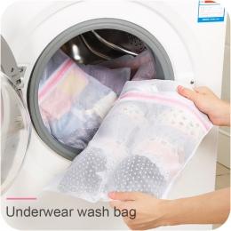 3 rozmiar składany biustonosz skarpetki bielizna pralka ochrona torba zapinana na zamek na pranie z siatki netto torby do przech