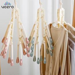 [8 ryby kości] VOZRO składana suszarka do ubrań suszenia stojak na ubrania wieszaki do ubrań dla dzieci na świeżym powietrzu wis