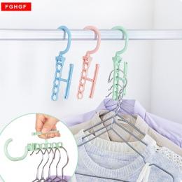 Gorący sprzedawanie pięć otwór z tworzywa sztucznego suszenia prania wieszaki na ubrania regały wielofunkcyjne sypialnia w klatc