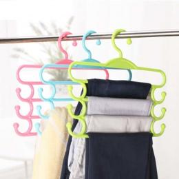 Wielofunkcyjne spodnie wieszak szaliki talia ręcznik na pasek antypoślizgowy magiczny wieszak do przechowywania wieszak na ubran