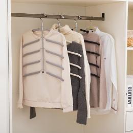 Wielowarstwowe ze stali nierdzewnej przechowywanie odzieży stojaki na ryby kształt kości wieszak na ubrania szafa suszarka do bi
