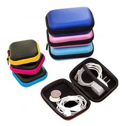 Hoomall woreczek do przechowywania etui na słuchawki słuchawki przypadku EVA słuchawki pojemnik na kabel słuchawki pudełko do pr