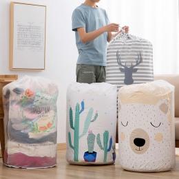 Składane miejsce do przechowywania torba na ubrania kocyk do okrywania szafa organizator Box woreczki wysokiej jakości pojemnikó