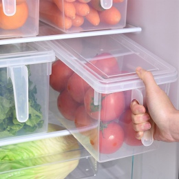 Kuchnia przezroczyste PP pudełko do przechowywania ziarna fasoli do przechowywania zawiera zamkniętą obudowę organizer do domu p