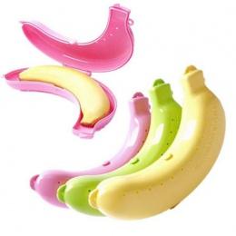Nowy kwalifikacje śliczne 3 kolory owoce Banana Protector pudełko pojemnik na lunch pudełko do przechowywania dla dzieci chronić