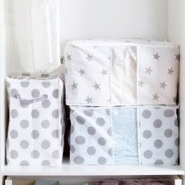 Składane miejsce do przechowywania torba na ubrania kocyk do okrywania szafa sweter organizator pudełka woreczki do przechowywan