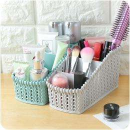 Pulpit rozmaitości pudełko do przechowywania makijaż organizator do pędzli do makijażu kosmetycznego etui do przechowywania Home