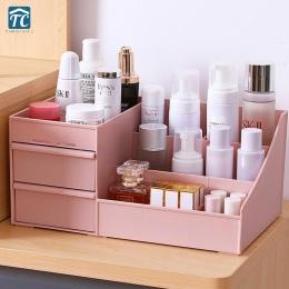 Kosmetyczne pudełko do przechowywania szuflady Desktopplastic makijaż toaletka do pielęgnacji skóry Rack dom organizator pojemni