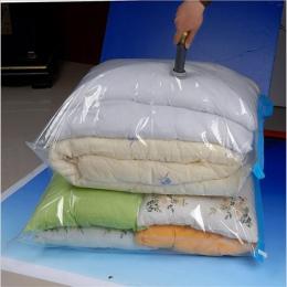 Worek próżniowy do przechowywania Organizer do domu przezroczysta składane ubrania organizator uszczelka skompresowany podróż os
