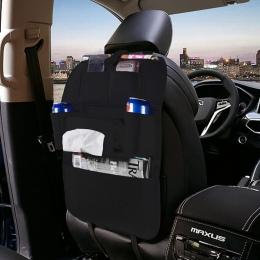 Podróży Multi Pocket torba do przechowywania tylne siedzenie samochodowe do przechowywania organizator kosz na śmieci netto uchw