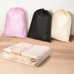 Buty odzież pyłoszczelna przechowywania torba do pakowania przyjazne dla środowiska podwójne torba ze sznurkiem
