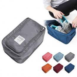 Wygodna torba podróżna do przechowywania Nylon 6 kolory przenośny organizery do sortowania butów etui wielofunkcyjne
