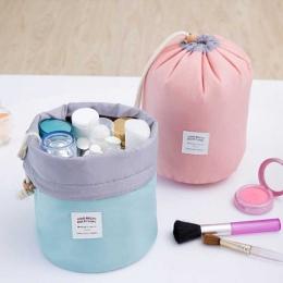Nowy do przechowywania kosmetyczne bagof cylindra torba do przechowywania worek do prania wodoodporny sznurek wielofunkcyjny pod