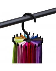 360 stopni najwyższej jakości obrotowy wieszak na krawaty regulowany krawat wieszak mieści 20 krawaty krawat Organizer dla mężcz