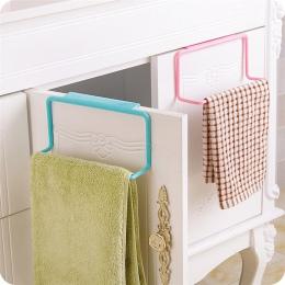 Wieszak na ręczniki wieszak na ręczniki organizator łazienka szafki kuchenne szafka wieszak szafka mycia tkaniny hak regał z pół