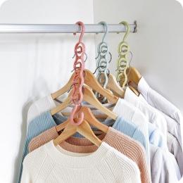 LASPERAL wielofunkcyjne koło wieszak na ubrania suszarka do prania z tworzywa sztucznego szalik wieszaki na ubrania warstwa prze