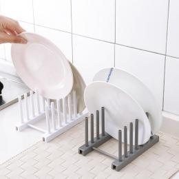 LASPERAL stojaki kuchenne biały z tworzywa sztucznego naczynia uchwyt pokrywy dostaw z kuchni do przechowywania szafka do spuszc