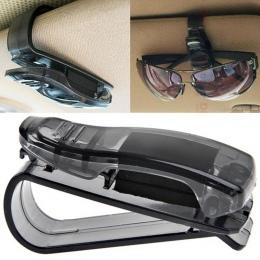 Gorący samochodów przeciwsłoneczny okulary okulary biletów odbiór klips do kartek uchwyt do przechowywania zacisk drop ship sprz