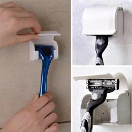 Hoomall z tworzywa sztucznego Super przyssawka stojak przezroczysty maszynka do golenia przyssawka golarka strona główna łazienk