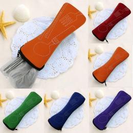 3 sztuk/zestaw ze stali nierdzewnej przenośne naczynia stołowe podróży torba kempingowa zestaw sztućców widelec poon zestaw pikn