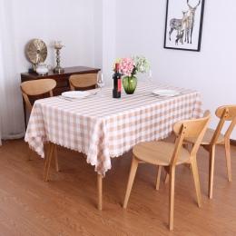 Proste i hojny w stylu wiejskim domu stół do jadalni tkaniny restauracja restauracja prostokątna piknik tkaniny czerwony kratkę