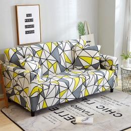 24 kolory Slipcover Stretch cztery pory roku pokrowce na sofy pokrowiec na meble poliester Loveseat narzuta na sofę ręcznik Sofa