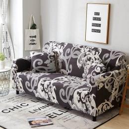 Elastyczny Spandex okładce sofą mocno owinąć All-inclusive obejmuje dla pokoju gościnnego przekroju Sofa pokrywa miłość siedzeni