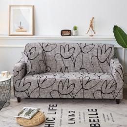 Jest to elegancki, nowocześnie kanapa pokrywa elastan elastyczny poliester kwiatowy 1/2/3/4 siedzenia narzuty kanapa krzesło sal