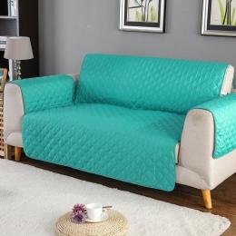 Sofa narzuta na sofę krzesło rzuć dla zwierząt domowych mata dla dzieci pokrowiec na meble odwracalne nadające się do prania zde