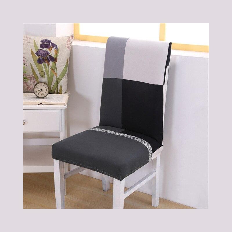 Elastyczne pokrowce na krzesła elastan ochrona na krzesło na