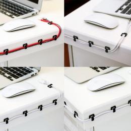 18 sztuk drutu uzwojenia klip samoprzylepne drutu uzwojenia urządzenie, drut z klipsem typ klamry drutu uzwojenia urządzenie