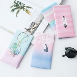 1 sztuk PU okulary torba na narzędzia do przechowywania w domu okulary przeciwsłoneczne etui na okulary Protector etui na akceso