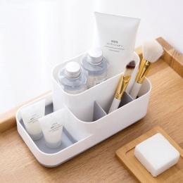 MeyJig Organizer na kosmetyki pudełko kosmetyczne organizator makijaż o dużej wydajności wyświetlacz przypadku szczotka etui na