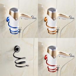 Multicolor uchwyt montażu na ścianie domu półka regał do przechowywania stojak haki łazienka organizator suszarka do włosów Rack