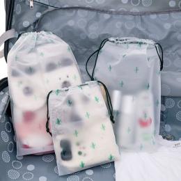 Kaktus wodoodporny kosmetyczne Box kobiety podróżna kosmetyczka na produkty do makijażu na zamek błyskawiczny makijaż organizato