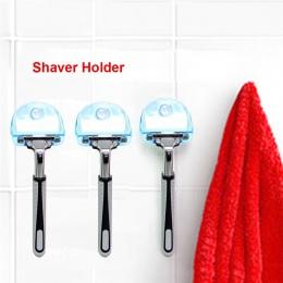 Gorąca sprzedaż golarka uchwyt na szczoteczkę do zębów ubikacja ścianie Sucker haczyk z przyssawką maszynka do golenia łazienka