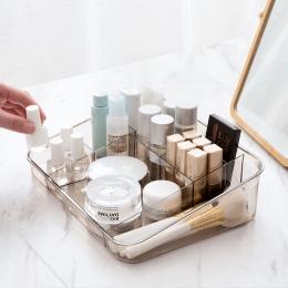 MeyJig makijaż kosmetyczne pudełko do przechowywania biurko łazienka organizator makijaż o dużej wydajności wyświetlacz przypadk