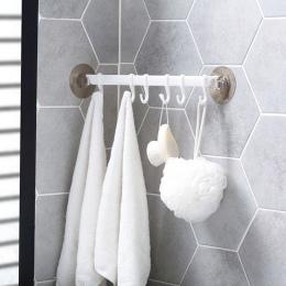 MeyJig ze stali nierdzewnej łazienka narzędzia organizator uchwyt na ręcznik haki aneks kuchenny organizator szafa Rack składowa