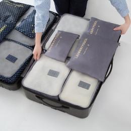6 sztuk/zestaw wodoodporna szafa bielizna buty szafa duży rozmiar bagażu pokrowiec torba do przechowywania podróży organizator n